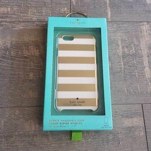 Kate Spade Gold Stripe iPhone 6 Phone Case